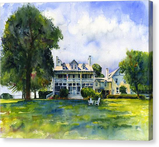 Wades Point Inn Canvas Print