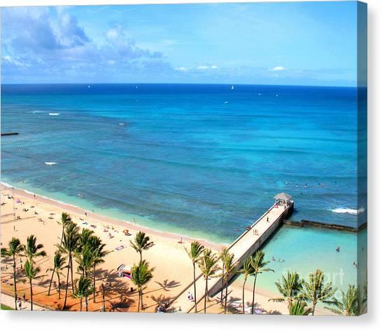Waikiki Paradise Canvas Print