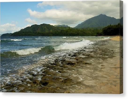 Wainiha Bay - Kauai  Canvas Print