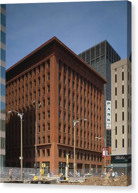 Wainwright Building Canvas Print by Granger