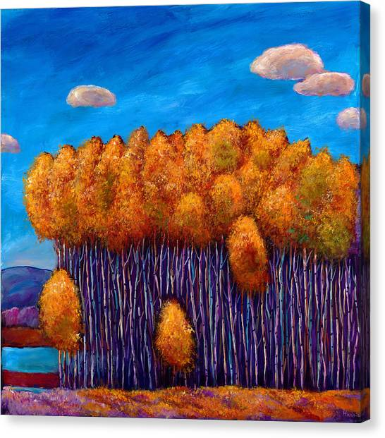 Representational Landscape Canvas Print - Wait And See by Johnathan Harris