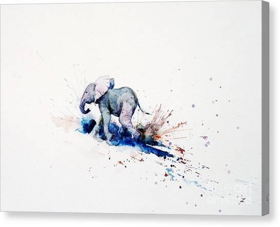 Fine Art India Canvas Print - Wait For Me by Zaira Dzhaubaeva