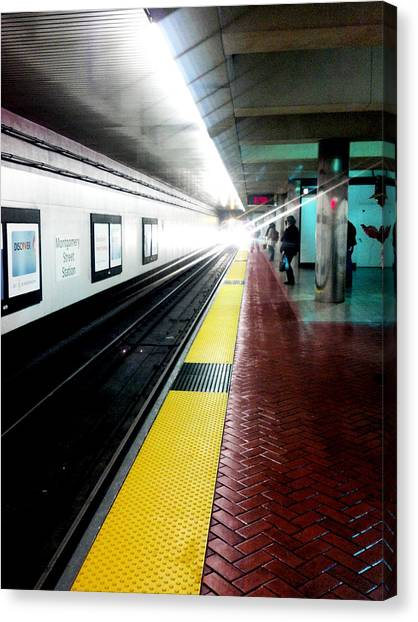 Waiting For Bart Canvas Print