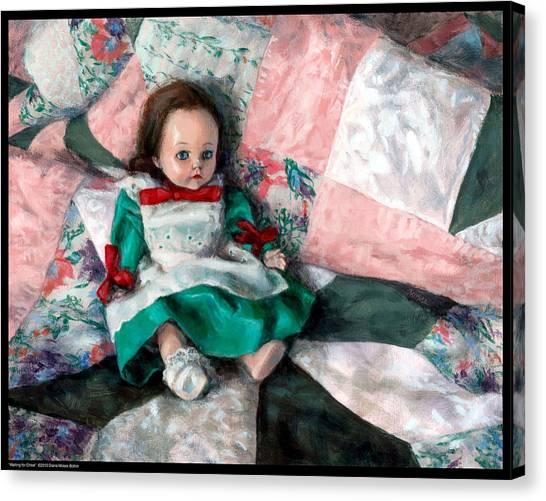 Waiting For Chloe Canvas Print
