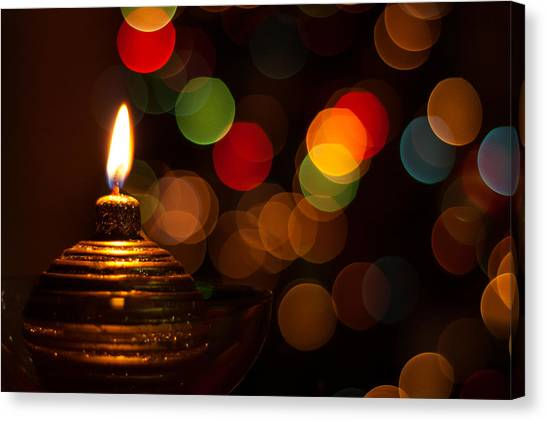 Waiting For Christmas Canvas Print by Andrea Mazzocchetti