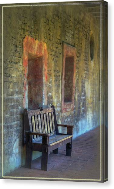 Mission Canvas Print - Waiting by Joan Carroll