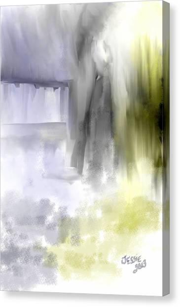 Waiting On Him Canvas Print