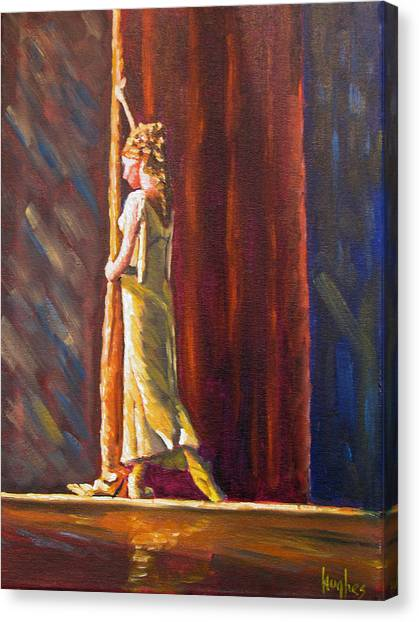 Waiting To Perform Canvas Print