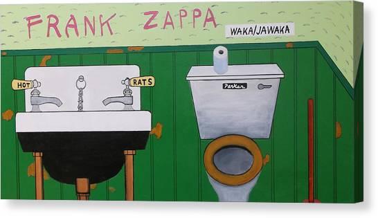 Frank Zappa Canvas Print - Waka/jawaka by Don Parker