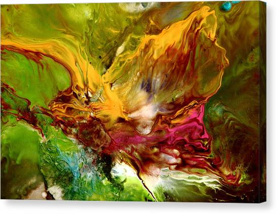 Wake Me Up Original Abstract Art Canvas Print