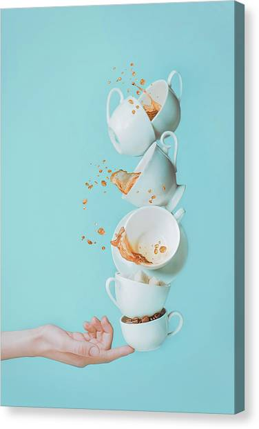Fingers Canvas Print - Waking Up by Dina Belenko