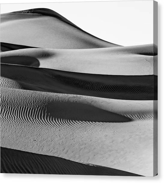 Death Valley Canvas Print - Walk Home by Jon Glaser