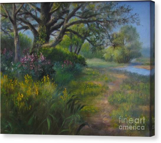 Walk Into Summer Canvas Print