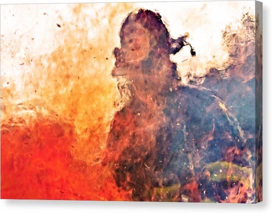 Burnt Canvas Print - Walk Through Hell by Everet Regal