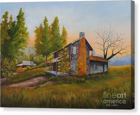 Walker Homeplace #3 Canvas Print