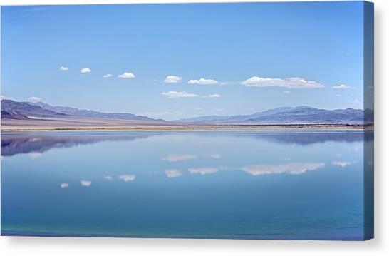 Walker Lake Mirror Canvas Print