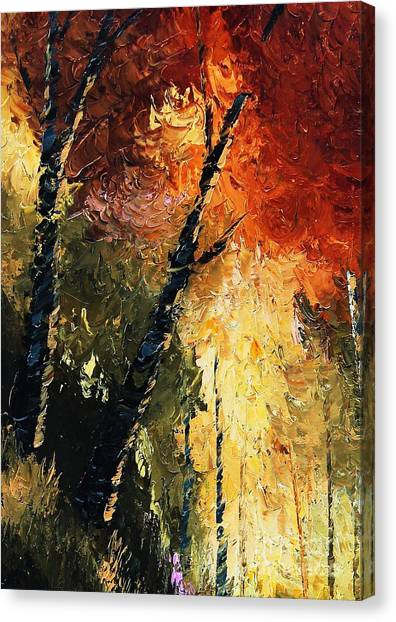 Walking With A Dream Canvas Print
