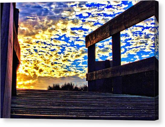 Walkway To Heaven Canvas Print