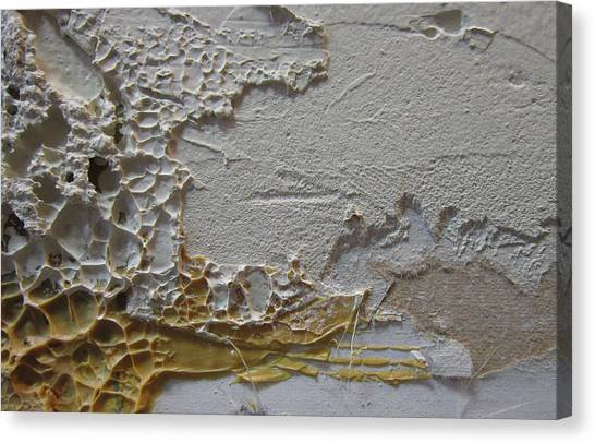 Drywall Canvas Print - Wall Abstract 11 by Mary Bedy