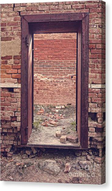 Vault Canvas Print - Walled In by Edward Fielding