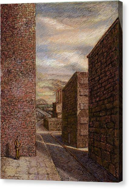 Wallman Revisited Canvas Print