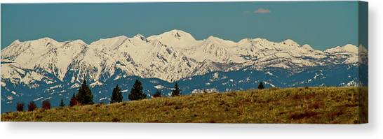 Wallowa Mountains Oregon Canvas Print