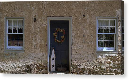 Walls And Windows Canvas Print by M Hess