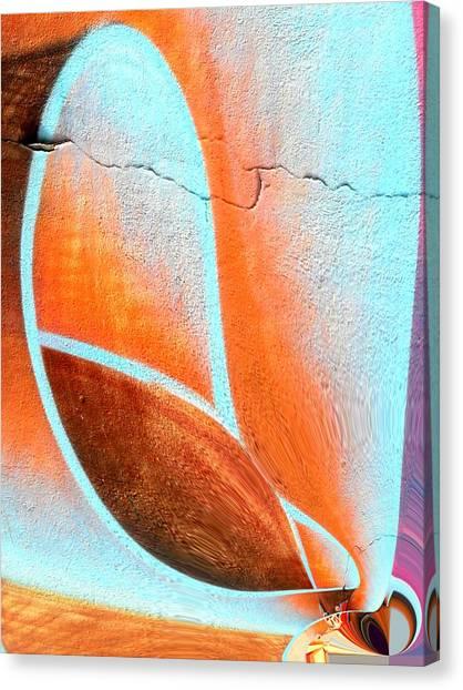 Walltatoo Canvas Print by Nico Bielow