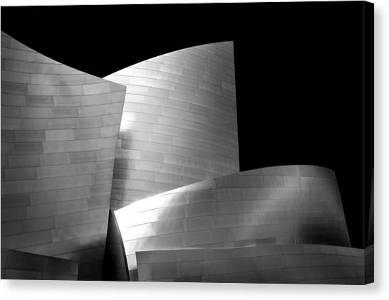 Disney Canvas Print - Walt Disney Concert Hall 1 by Az Jackson