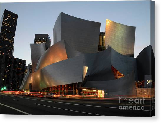 Walt Disney Concert Hall 21 Canvas Print