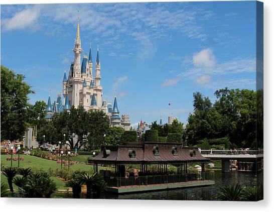 Canvas Print - Walt Disney World Orlando by Pixabay