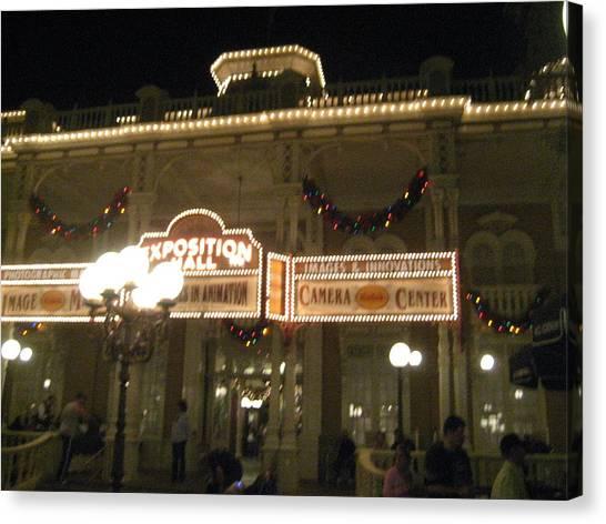 Walt Disney World Resort - Magic Kingdom - 12121 Canvas Print by DC Photographer