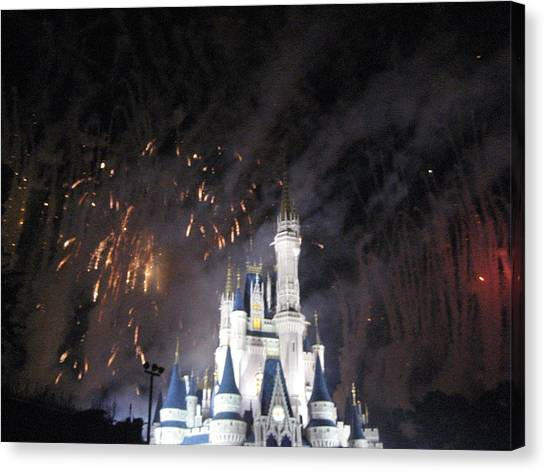 Fl Canvas Print - Walt Disney World Resort - Magic Kingdom - 121297 by DC Photographer