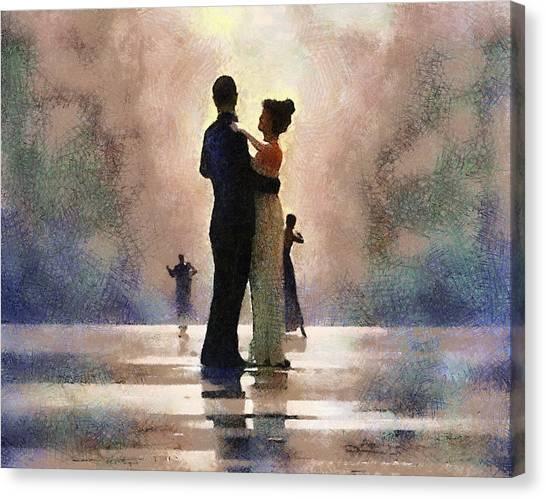 Waltz Like A Mirage Canvas Print