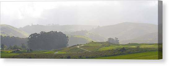 Wander The Hills Canvas Print