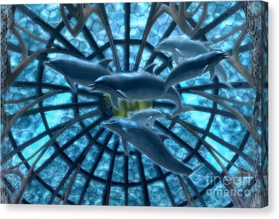 Wandering Atlantis Canvas Print