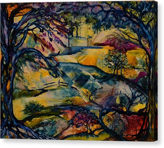 Wandering Woods Canvas Print
