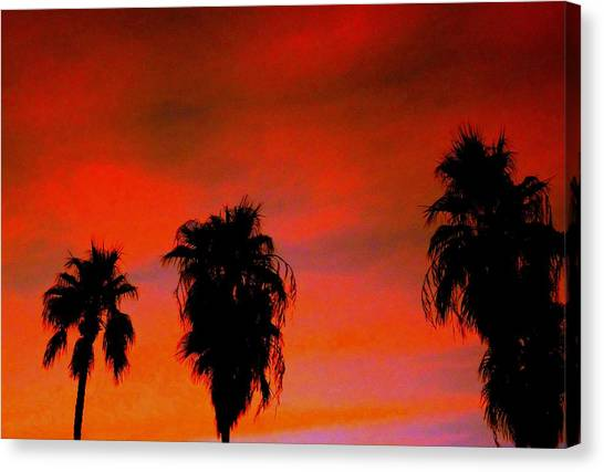 Wang's Sunsets 3 Canvas Print