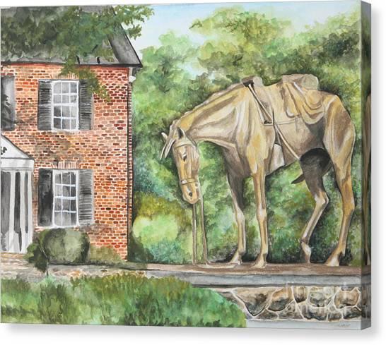 War Horse Memorial Canvas Print