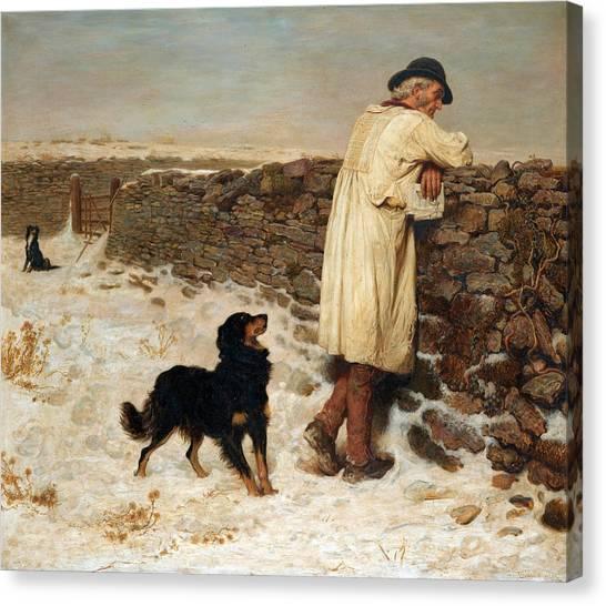Briton Canvas Print - War Time by Briton Riviere