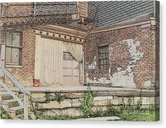 Warehouse Dock Canvas Print