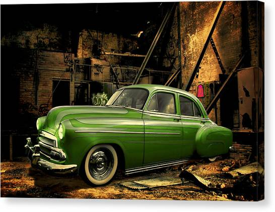 Warehouse Gem Canvas Print