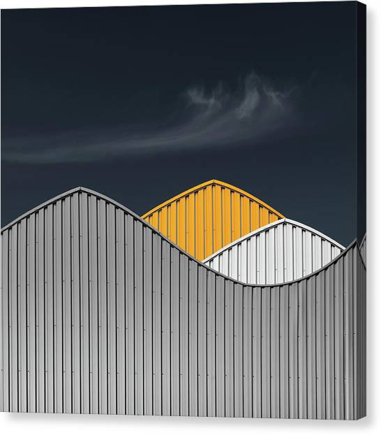 Warehouses Canvas Print - Warehouses by Luc Vangindertael (lagrange)