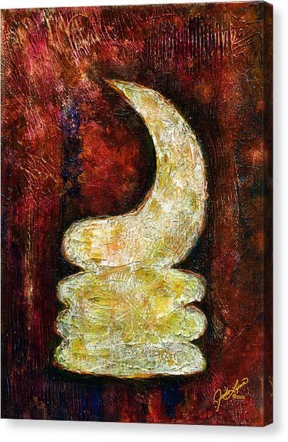 Warhorn Canvas Print