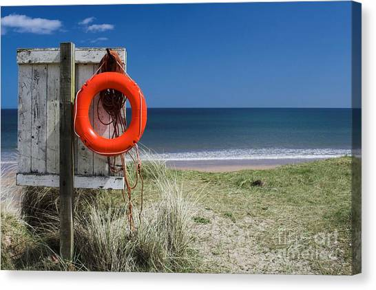Warkworth Beach Northumberland Coast Canvas Print