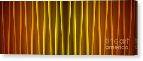 Warm Curtain Canvas Print
