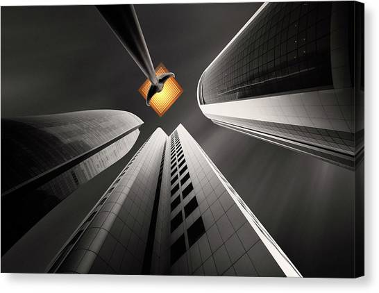 Kuwait Canvas Print - Warm Hopes by Ahmed Thabet