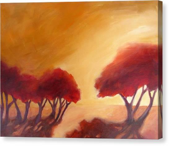 Warm Light Canvas Print by Beverly Shaw-starkovich