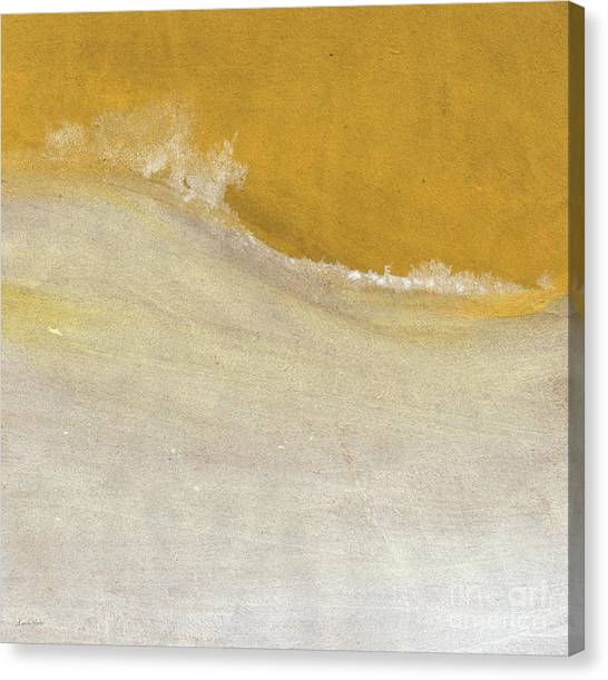 Abstract Designs Canvas Print - Warm Sun by Linda Woods