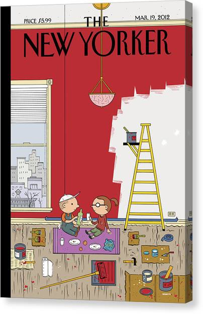 Painters Canvas Print - Warmth by Ivan Brunetti